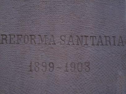 reforma sanitaria 1899 1903